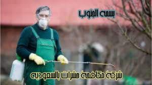 شركة مكافحة حشرات بالسعودية